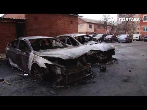 UA: Полтава: У Полтаві спалили авто редактора газети