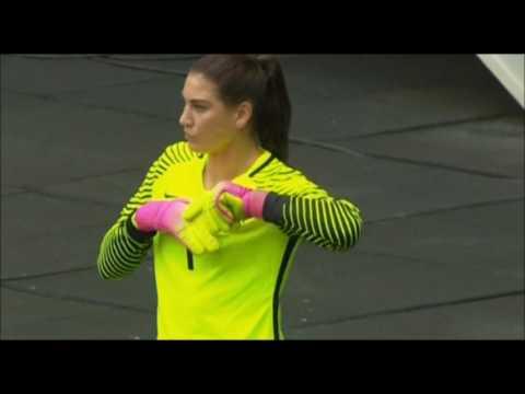 4f679de08 Hope Solo Calls Sweden Soccer Team Cowards   WC goes IN - YouTube