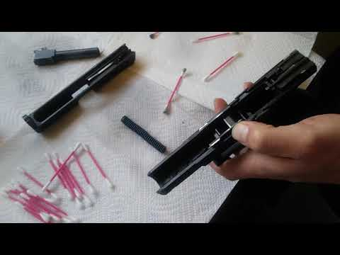SHOOTER LUBE CLEANING PART 2 CZ P10C