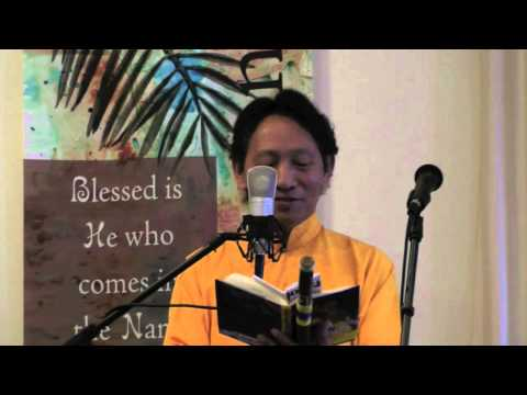 """Universal Love and Compassion"" Nawang Khechog Park Street Christian Church Palm Sunday Concert 2012"
