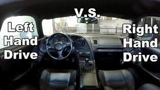 Right Hand Drive V.s. Left Hand Drive - Supra Is A D$#% Magnet