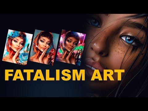 "Pro Retoucher видеокурс ""FATALISM ART"""