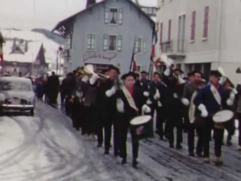 1961 Défilé du 11 Novembre - Les Gets