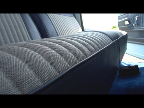 How to Reupholster a Truck Seat