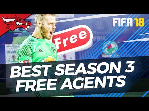 The Best Free Agents In Season 3 Of FIFA 18 Career Mode