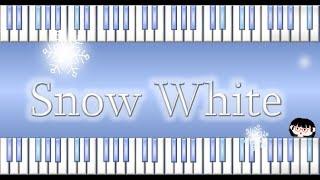 水瀬いのり「Snow White」short piano cover by chattyu