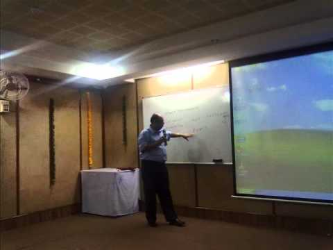 """Guest lecture on Wealth Management"" held on 23 sept-2011"