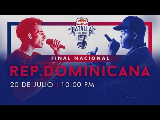 Final Nacional República Dominicana en vivo | Red Bull Batalla de los Gallos