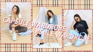 Capsule Wardrobe 9 Items = 15 Looks!