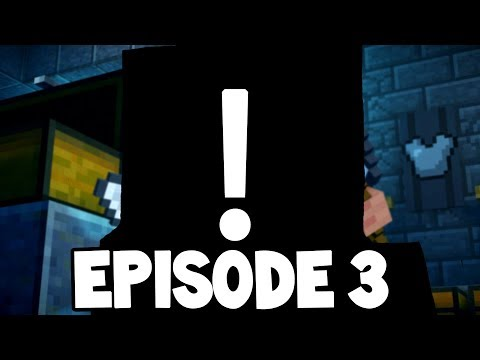 Minecraft Story Mode: Season 2 - EPISODE 3 - I'M IN THE GAME! (Jailhouse Block)