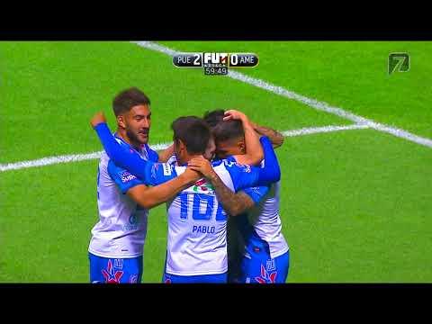 GOL DE FERNÁNDEZ | Puebla 2 - 0 América | Liga MX - Clausura 2018 - Jornada 16 | Club Puebla