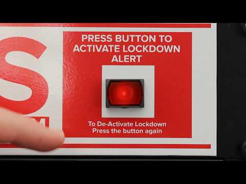 How to activate the school lockdown alert on the ALAS system