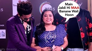 Bharti Singh's FUNNY Reaction On Pregnancy With Hubby At 12th Gold Awards 2019