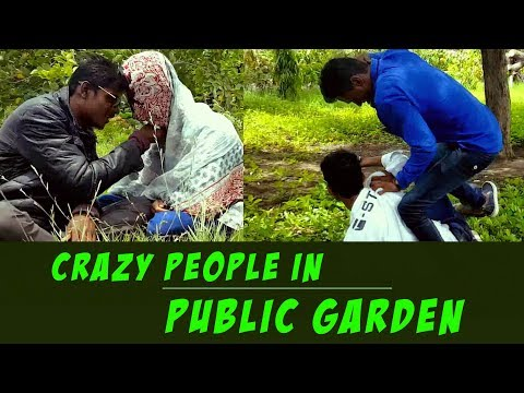Crazy People in Public Garden | A Funny Video | Raichur Entertainers