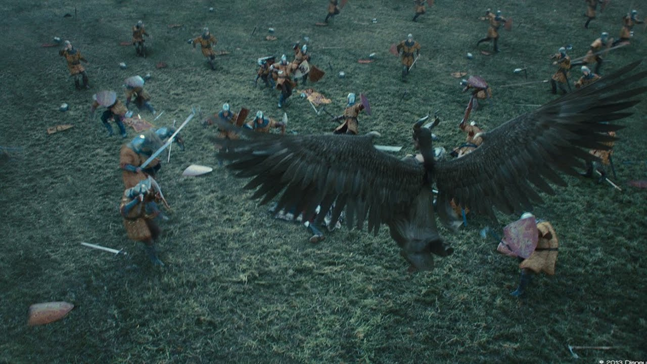 Download Maleficent 2014  king army and maleficent fight scene (4/10)