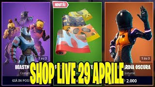 SERVER PRIVATI FORTNITE ITA LIVE SHOP 29 APRILE 2019 - A 60 ABBONATI REGALO SKIN 51/60!