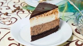 торт-суфле шоколадный