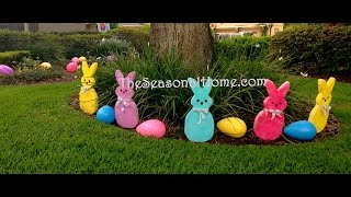 Springy Easter Home Tour  2015  W/music