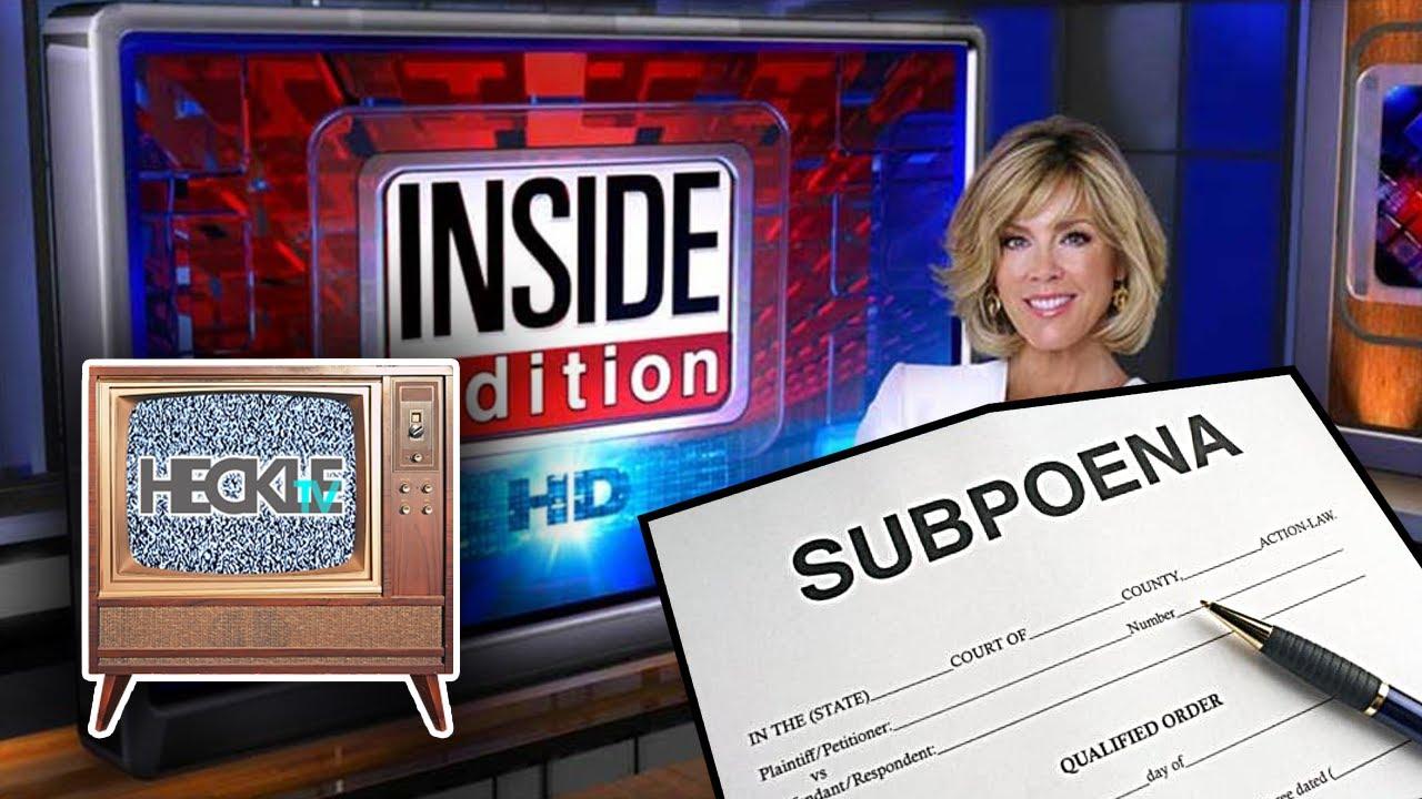 Inside Edition Issued Subpoena in Natalia Barnett ...