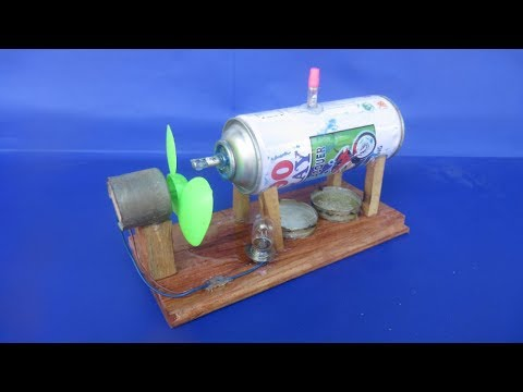How to make Free energy stream generator - New stream generator with fan 2018