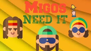 Migos - Need It (Visualizer) ft. YoungBoy Never Broke Again 2020