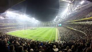 Ireland vs South Africa Nov 2014 Anthems
