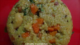 Kodo Millet Khichdi Recipe-Varagu Arisi Khichdi-Upma Recipe By Healthy Food Kitchen