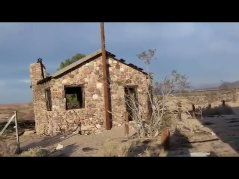 ABANDONED Mojave Desert Store and Stone Cottage