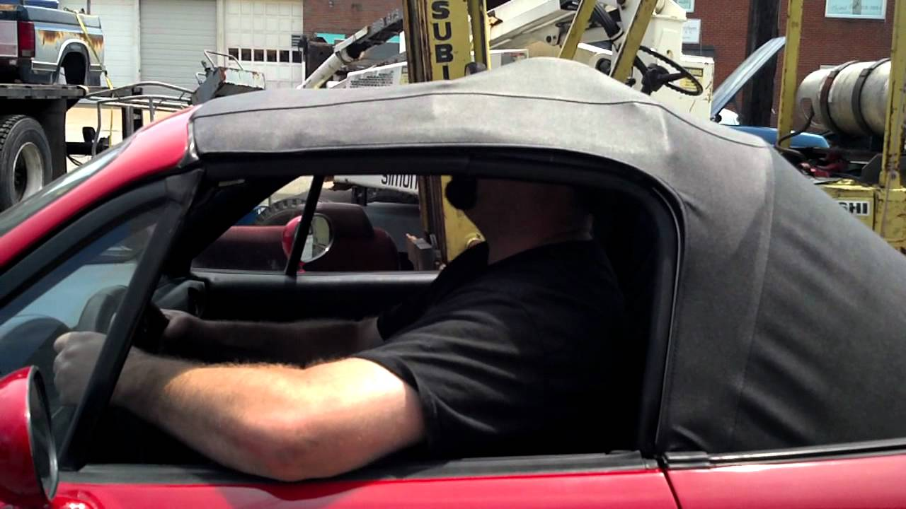 I Dont Fit In A Miata Lol Youtube
