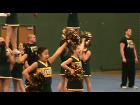 Greenfield Middle School Cheer Competition-starring (you guessed it) Amanda Hensiak