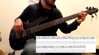 Biffy Clyro - Many of horror (Bass cover with tabs)