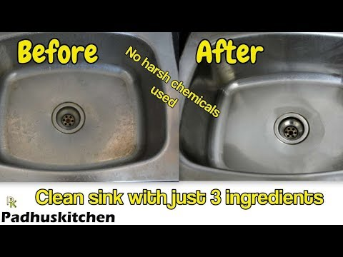 How to Clean Kitchen Sink-How to Clean Stainless Steel Kitchen Sink