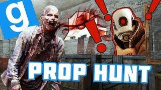 ZOMBIE MAREK POMAGA SZUKAĆ PROPÓW! | Garry's mod #828 - Prop Hunt [#143] (W: EKIPA) #Bladii