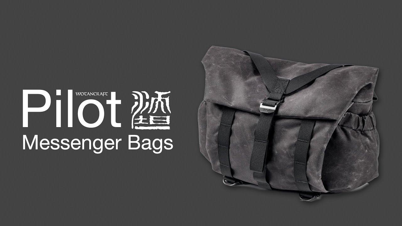 Download PILOT 7L & 10L Premium Quality Messenger Bags for Photographers by Wotancraft