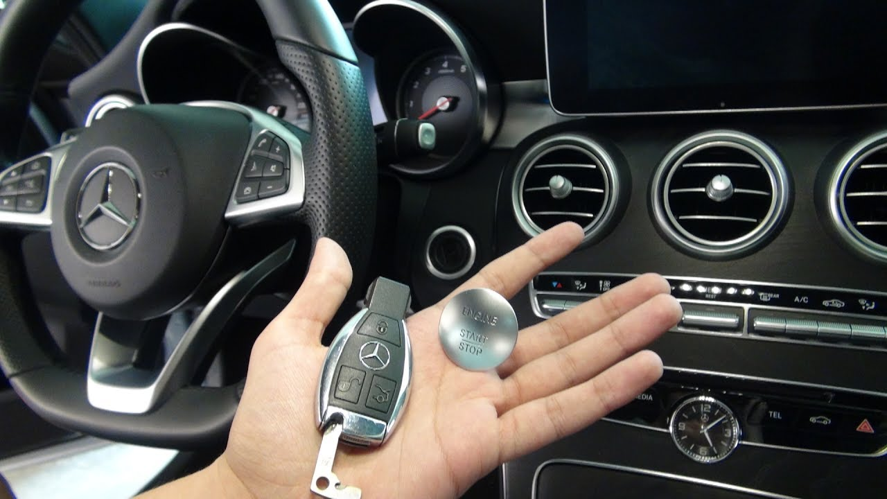 New Mercedes Benz Cool Features Tips And Tricks Key Fob C Class Youtube