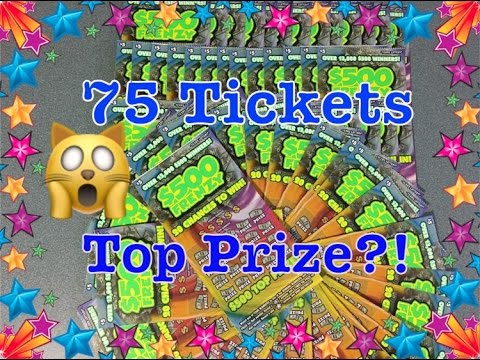 HUGE WIN!! TOP PRIZE?! Book of $5 $500 Frenzy Texas Lottery Scratch Off Tickets