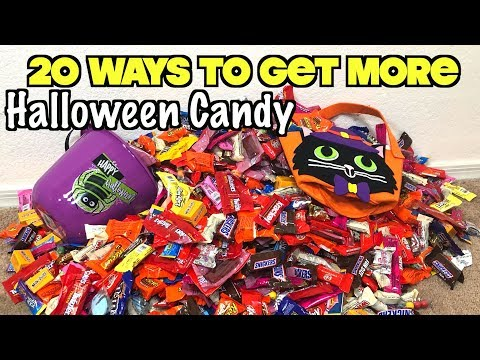 20 Smart Ways To Get The Most Halloween Candy When You Go Trick or Treating This Year   Nextraker