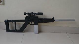 Homemade airgun silence sniper (vsk 94 sniper) | releasable scope