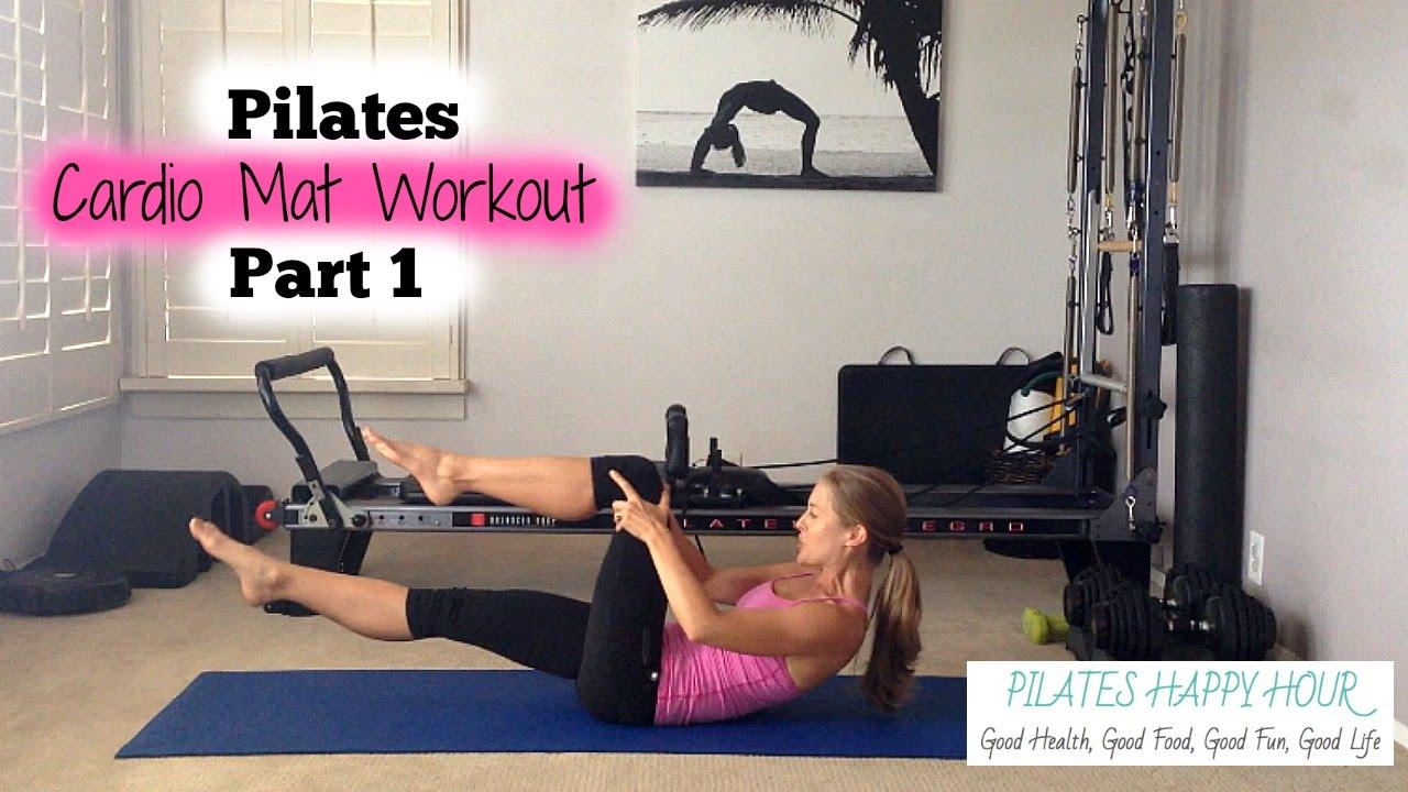 Cardio Pilates Advanced Pilates Workout Part 1 Youtube