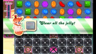 Candy Crush Saga Level 1332 walkthrough (no boosters)