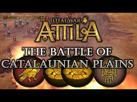 Total War: Attila - Gameplay ~ The Historical Battle of Catalaunian Plains