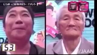 Try Not To Laugh Japanese Game Show Old Man Faces His Challenger