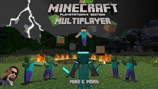 [Live] Minecraft PS4 - Multiplayer/Singleplayer Exploring the World