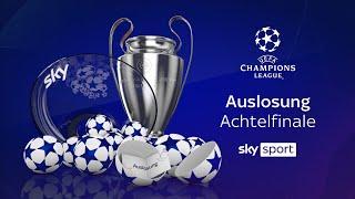 Auslosung der UEFA Champions League - Achtelfinale 2020/21 #UCL