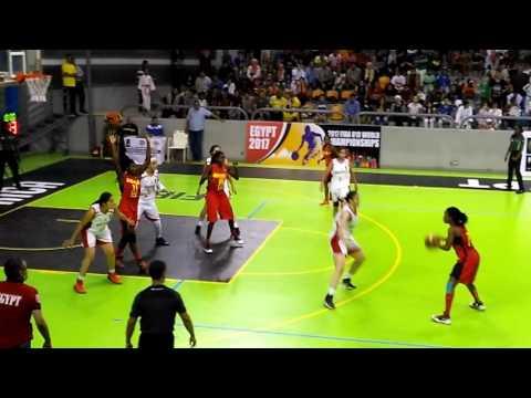 Egypt v Angola (African championship girls under 18
