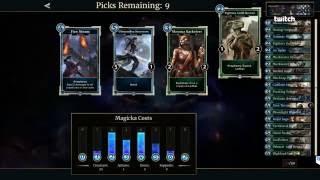 Bethesda Plays The Elder Scrolls: Legends - Versus Arena (Developer Walkthrough #1)