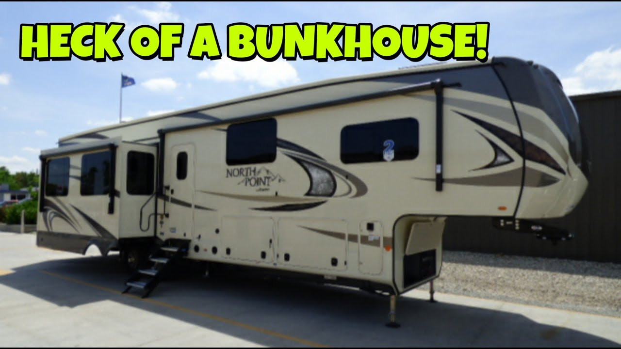 North Point Rv >> Sweet Floorplan From 2019 Jayco Northpoint 377rlbh