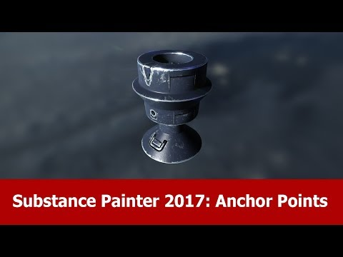 Substance Painter 2017 New Features : Anchor Points