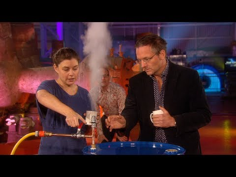 Experiment Showing How Steam Engines Work - The Genius Of Invention - Earth Lab