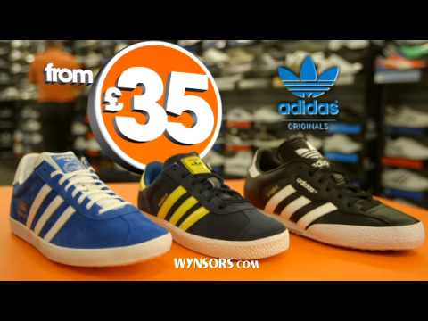 Wynsors World of Shoes  February 2014 TV Advert
